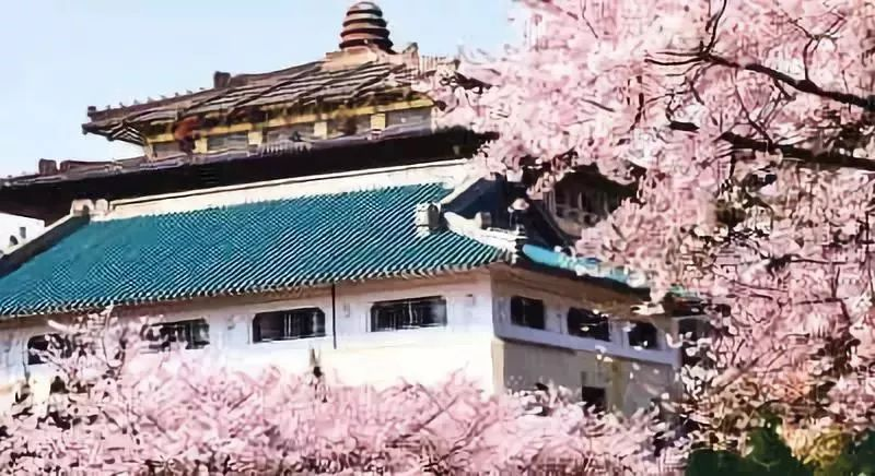 武汉大学平面图景观
