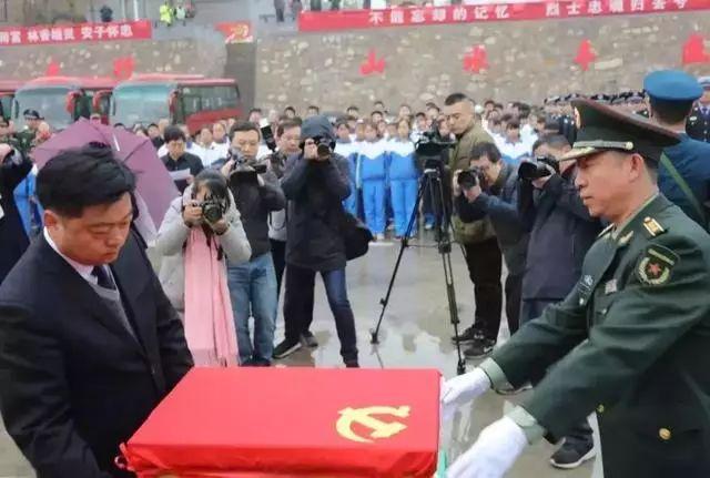 29岁牺牲被安葬山西的邹开胜烈士,74年后英灵回归红安!